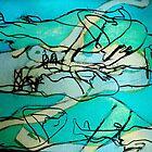 nudes blue by H J Field