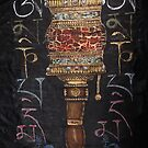 Buddhist Prayer Wheel by Tilly Campbell-Allen
