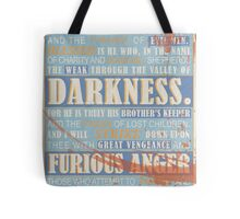 Pulp Fiction: Ezekiel 25:17 (Bloodied) Tote Bag