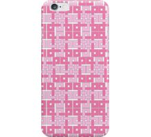 Celtic Squares in Pink iPhone Case/Skin