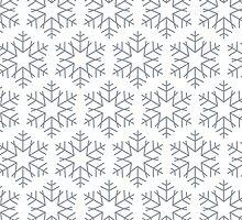 Beautiful Snowflakes pattern by o2creativeNY