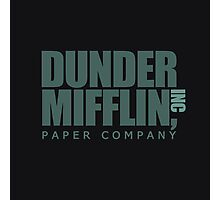 Dunder Mifflin Paper Company  Photographic Print