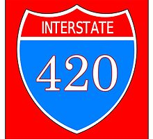 Interstate 420 by 420Stickers