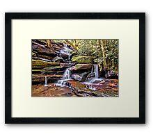 Somersby Lower Falls - Brisbane Water National Park Framed Print