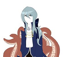 Fukami; actual octopus prince by ParanoidRose