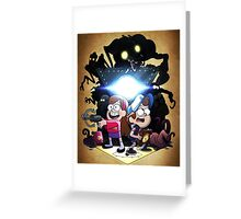 Gravity Falls Season Two Official Picture Merch Greeting Card