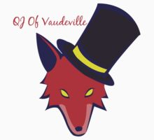 """Vaudeville Coyote"" Apparel by QJofVaudeville"