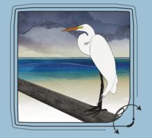 American Great Egret T-Shirt