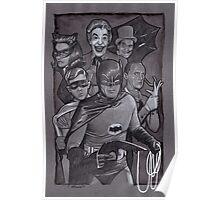 Batman TV Show Art Poster
