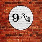 Platform 9 3/4 by ernieandbert