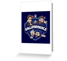 Gallifreyniacs Greeting Card