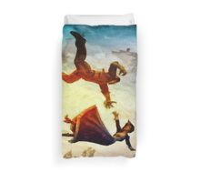 If You Fall I Shall Catch You Duvet Cover