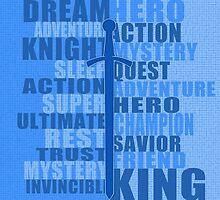 DREAM HERO (blue) by BGWdesigns