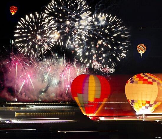 After Glow™ Fireworks Show.3 by Alex Preiss