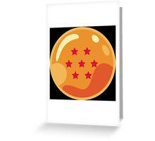 7 Stars Greeting Card