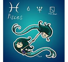 Astrology - Pisces Photographic Print