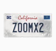 License Plate - ZOOMX2 by TswizzleEG