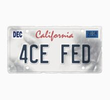 License Plate - 4CE FED by TswizzleEG
