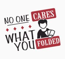 Poker: No one cares what you folded by nektarinchen