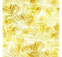 Gold butterflies Photographic Print