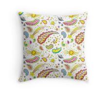 Baby paisley design Throw Pillow