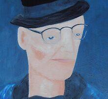 Ivan Brown - blues man by Jacqueline Eirian McKay