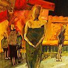 At the carnival Yamba NSW Australia - NYE by Margaret Morgan (Watkins)