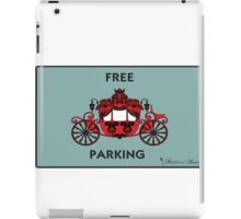 "Mozart and Marie ""Free Carriage Parking"" Mozopoly iPad Case/Skin"