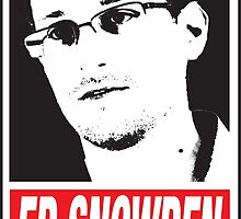 EDWARD SNOWDEN - WHISTLE BLOWER by Onevisualeye