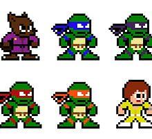 8-bit TMNT Classic by groundhog7s