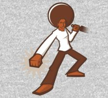 Afro Ninja by graphicgeoff