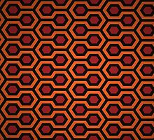 THE SHINING - OVERLOOK CARPET by ideanuk