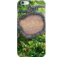 Pixie Hollow Sign iPhone Case/Skin