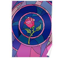 Glass Rose Poster