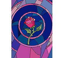 Glass Rose Photographic Print