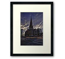 Trinity Methodist Church Framed Print