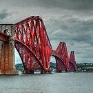 Forth Bridge, Fife, Scotland by 242Digital