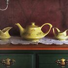Vintage Yellow Tea Set by Yannik Hay