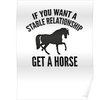Get A Horse Poster