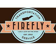 Firefly Transportation Photographic Print