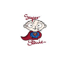 Super Stewie by CarinaDrawings