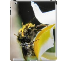Abundance of pollen iPad Case/Skin