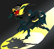 Batman and Robin Signal by Graeme Partridge-David