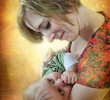mother and child by vigor
