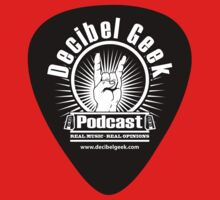 Decibel Geek Guitar Pick! by decibelgeek