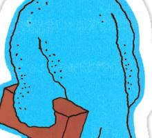 Blue Quasimoto Sticker