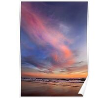 pink cotton Poster