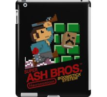 Super Ash Bros. (T-shirt, Etc.) iPad Case/Skin