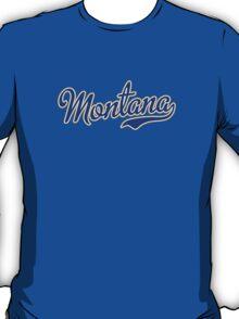 Montana Script  Blue T-Shirt
