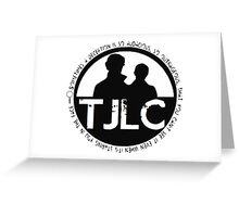TJLC Emblem Greeting Card